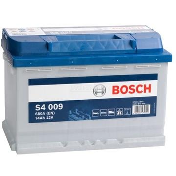 bosch silver s4 74ah 680a - фото