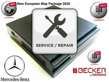 ремонт becker карт пульт управления mercedes навигация gps - фото