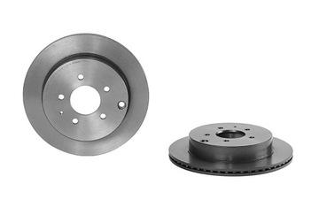 диск тормозный mazda cx-7 07-13 зад - фото