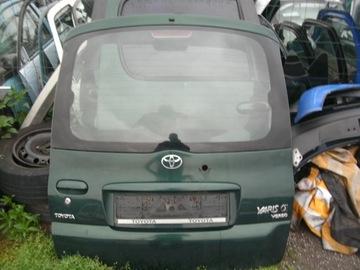 крышка багажника зад c стекло toyota yaris verso 99-05rok 6r4 - фото