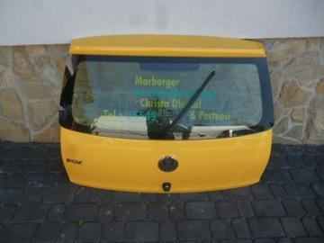 крышка багажника зад vw fox - фото