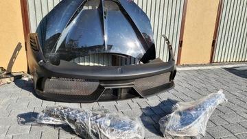 ferrari italia 458 speciale капот бампер фары - фото