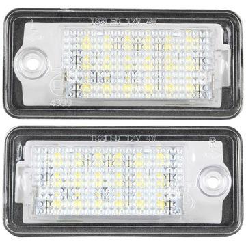 лампочки светодиод led подсветка для audi a3 8p a4 b6 b7 a6 - фото