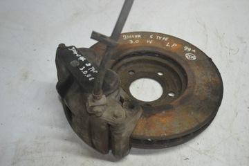 диск тормозна левая передняя jaguar s-type - фото