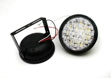 круглые свет светодиод led для водителя фары e4 rl 9 cm drl - фото