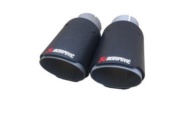 наконечник глушителя выхлопа akrapovic 60/78mm - фото
