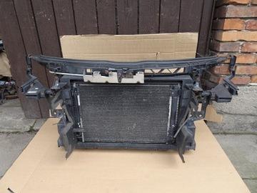 audi tt 8j 06- 2.0 tfsi панель передняя комплект радиаторы - фото