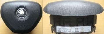 подушка водителя skoda citigo - фото