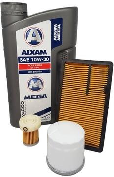 комплект / комплект фильтров aixam kubota z402 + масло - фото