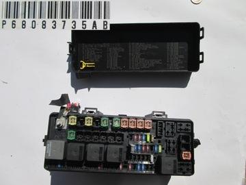 dodge charger блок предохранителей p68083735ab - фото
