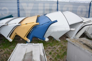 iveco daily 06-13 czapka крыши обшивка четверть - фото