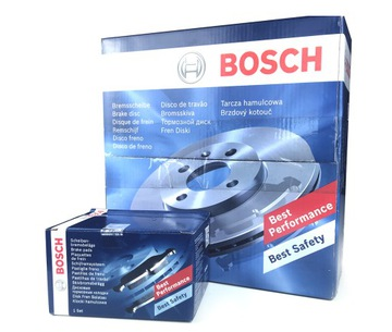 bosch диски колодки зад alfa romeo giulietta 278mm - фото