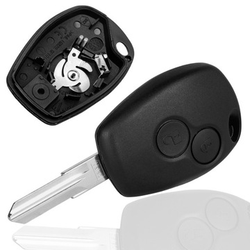 корпус пульт управления ключ dacia logan sandero duster - фото
