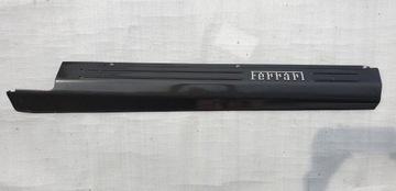 ferrari ff карбон правая полоса порога - фото