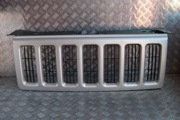 решетка радиатора решетка jeep commander xk xh 2007 - фото
