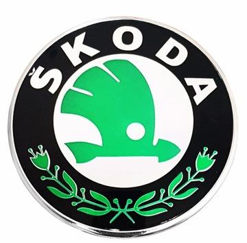 эмблема значок skoda fabia octavia rapid 80mm - фото