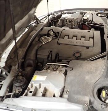 jaguar xk x150 двигатель комплектный 4.2 298km 131tkm - фото