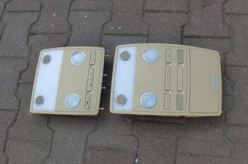 плафон подсветка кабины перед vw phaeton 02-05 - фото