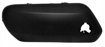решетка накладка  планка накладки бампера peugeot 307 правая - фото