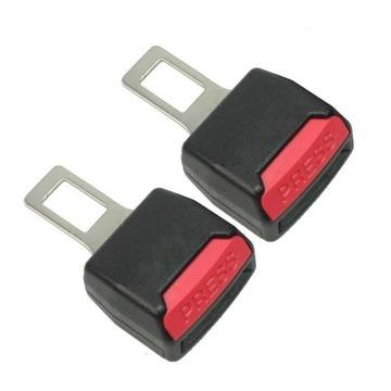 2 шт удлинитель заглушка для ремней безопасности - фото