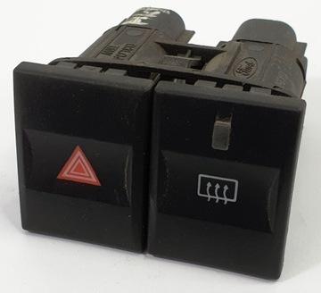 выключатель обогреву стекла кнопка аварийные mondeo - фото