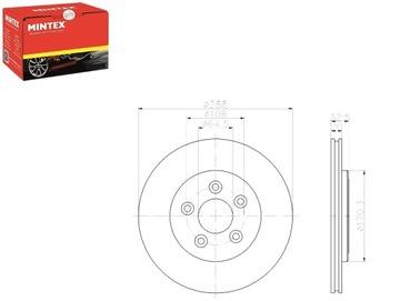 диски дисковые тормозное 2 штуки lincoln ls 3.9 v8 32v - фото