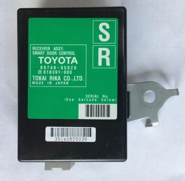 модуль замка 89740-05020 toyota avensis t27 2,0 b - фото