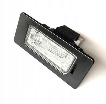 освещение таблици skoda yeti 5l левая=правая - фото