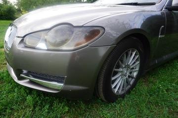 jaguar xf перед капот бампер крыла дизель 08r - фото