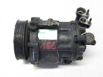 citroen c6 2.7 компрессор кондиционера 06-11 156 - фото