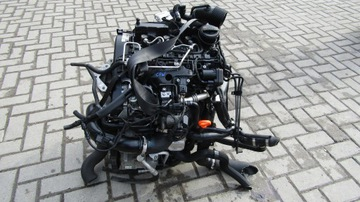 двигатель vw skoda seat 1.2 tdi cfw cfwa комплектный #@ - фото