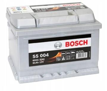 аккумулятор bosch silver s5 61ah 600a - фото