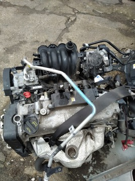 fiat 500 двигатель комплектный з коробка - фото