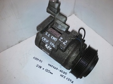 компрессор кондиционера accord vii 447260-6080 2.2d - фото