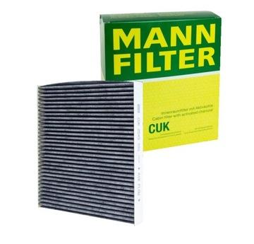 фильтр салонный weglowy-mann-filter cuk 2545 - фото