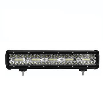 панель светодиод led фара робоча галогенка 300w 12-24v cree - фото