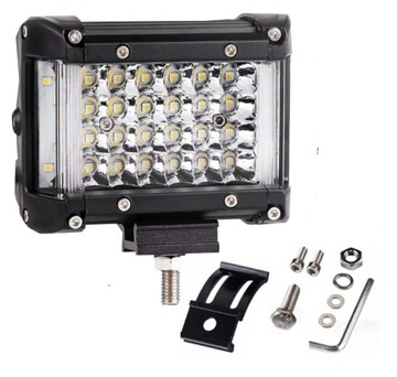 панель светодиод led фара робоча галогенка 150w + бок ledy - фото