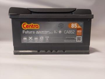 аккумулятор centra futura ca852 85ah 800a - фото
