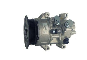 компрессор кондиционера toyota avensis t25 - фото