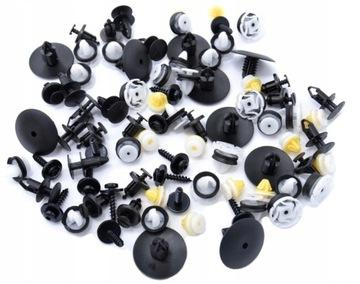 renault dacia запонки шпильки подкрылки комплект - фото