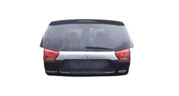 peugeot 4007 x42 крышка багажника задняя зад в сборе стекло - фото