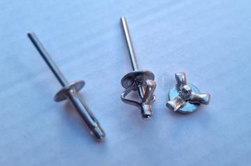 nity алюминиевые для бамперов i пластик головка 13mm - фото