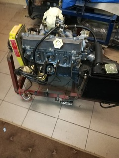двигатель с коробка передач fiat 128 sl  1.3 - фото