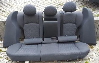 mercedes w203 седан в сборе задняя сиденья задние - фото