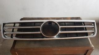 решетка радиатора решетка vw touareg - хром - фото