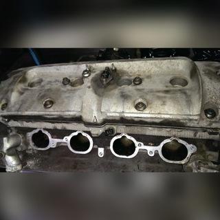 головка блока цилиндров мотора porsche 968 - фото
