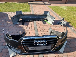 audi a6 c7 бампер 6 pcd передняя сторона задняя сторона + dodatki - фото