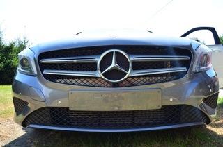 бампер mercedes w176 a class цвет без покраска - фото
