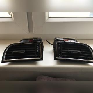 решетки вентиляции бок skoda superb ii - фото