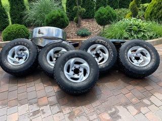 колеса - диски r15 7j 6x139,7 c шинами 31x10,50 r15 - фото